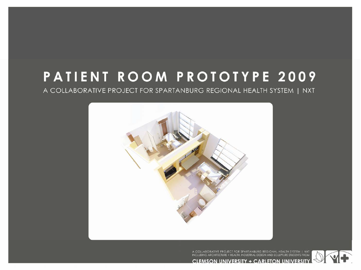 Patient Room Prototype_2009